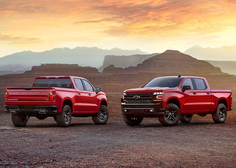 Trail Boss: Chevy Shows Off Next Gen 2019 Silverado in Texas