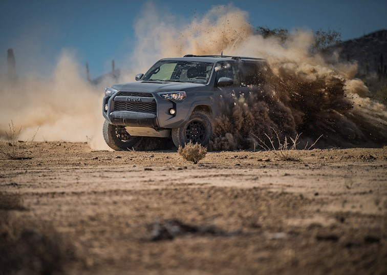 Driven: 2017 Toyota 4Runner TRD Pro Takes on Baja
