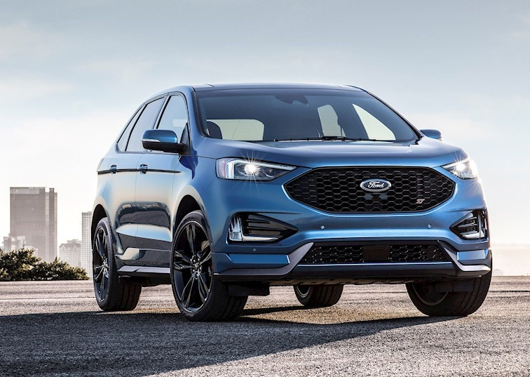 Hot Hatch Meets Crossover Suv The  Ford Edge St