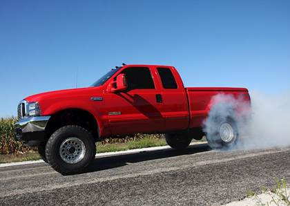 2005 f350 6.0 powerstroke straight piped