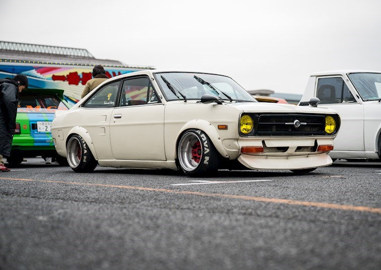 Where the JDM Classics Meet in Japan: JCCA New Year Meeting
