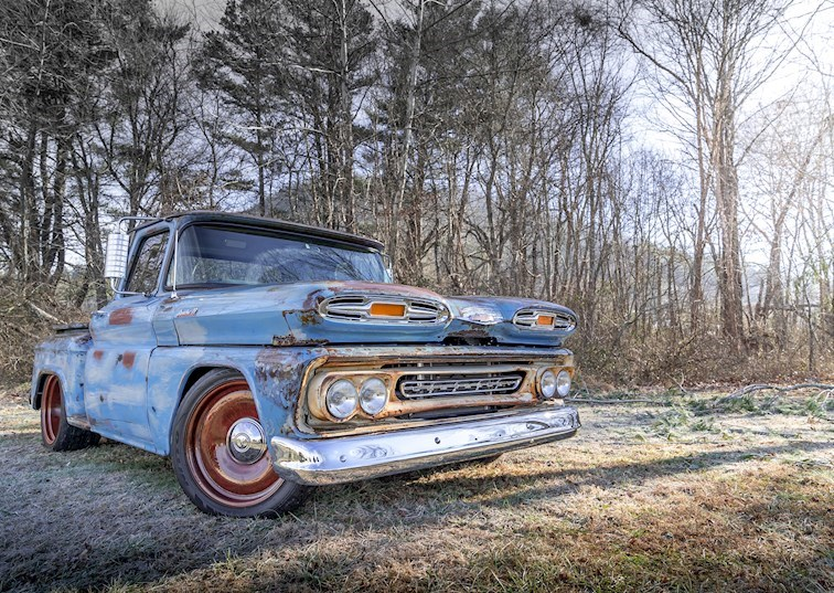 Ride of the Week: Built & Blown '61 Chevy Apache