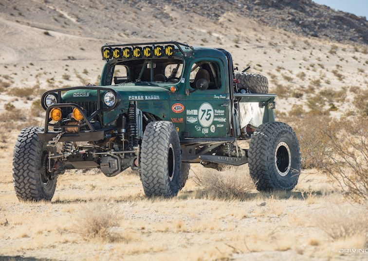 Meet the RaceTractor: A 12-Valve Classic Power Wagon Built for The Hammers
