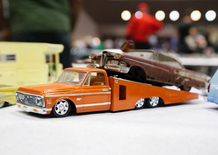Scale Artistry: The Coolest Model Cars from NNL West 2018 [Gallery]