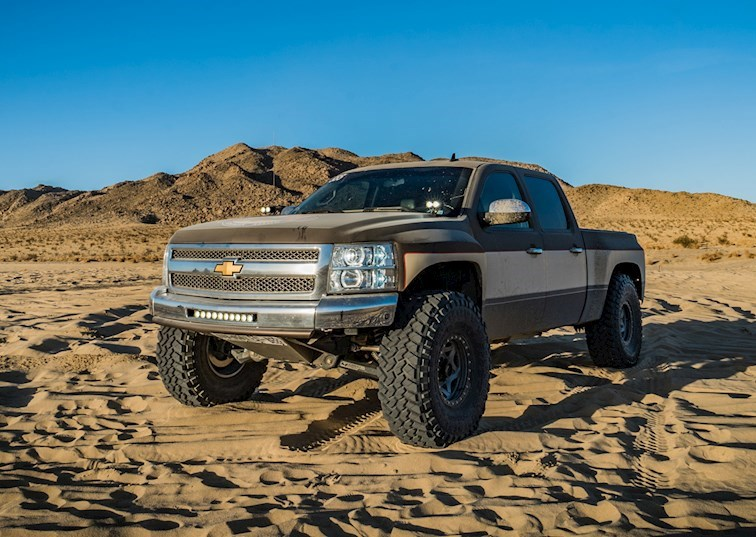 Reaching New Heights: The Chevy Prerunner Inspired by an 80s TV Show