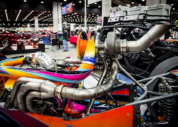8 Glorious Engines from the Detroit Autorama