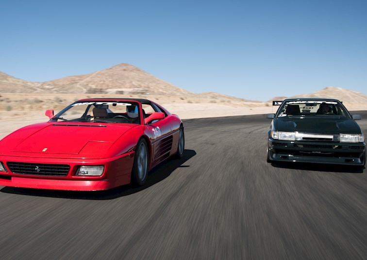 AE86 vs. Ferrari 348: A Closer Look at the Cars of Driver Battles Episode 2