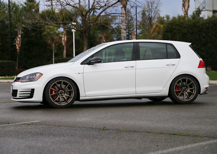 A Touch of JDM: WedsSport Wheels & Nitto NT05s for the Mk7 Golf GTI