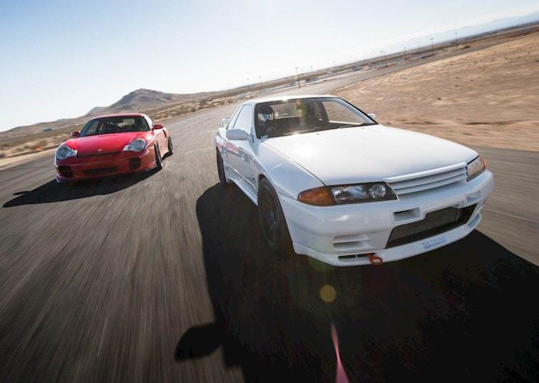 Driver Battles Episode 3: Porsche 996 Turbo vs. Nissan R32 GT-R [Video]