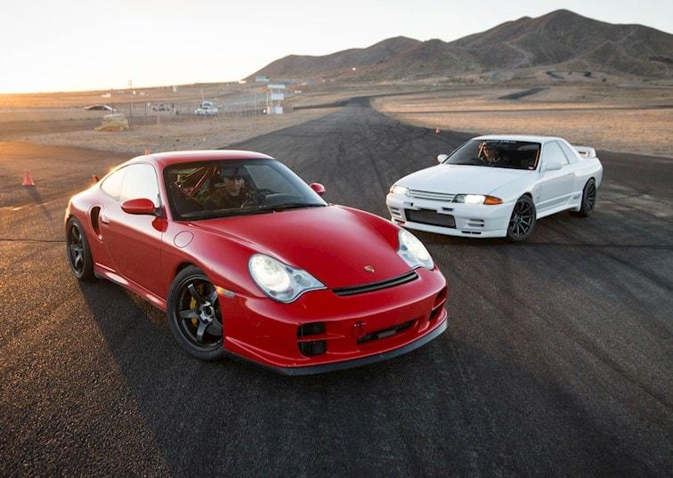Driver Battles Episode 3 Porsche 996 Turbo vs Nissan R32