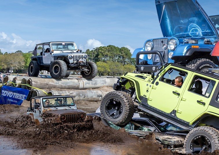 2018 Myrtle Beach Jeep Jam [VIDEO]