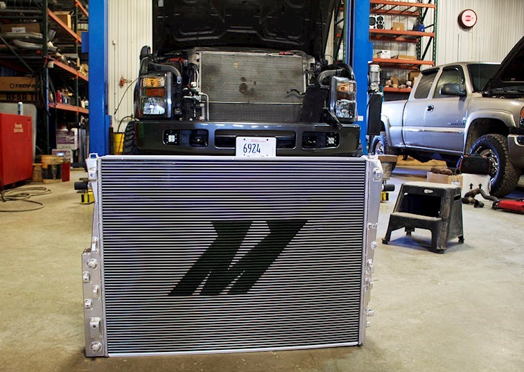 Product Spotlight: Mishimoto's 6.4L Power Stroke Radiator