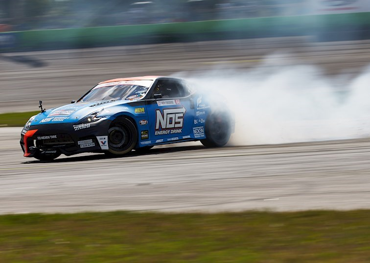 Chris Forsberg Scorches the Competition at Formula Drift Orlando