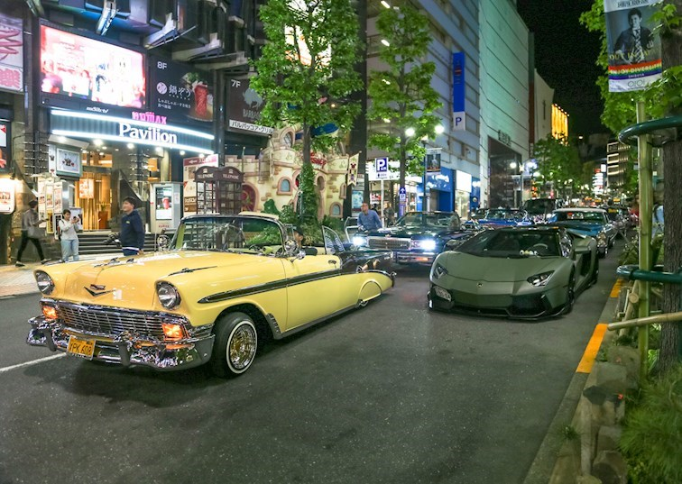Tokyo Cruisin': Taking Over the Streets of Shibuya [Gallery]