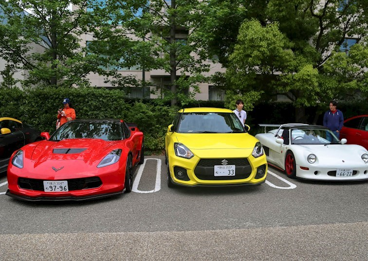 Easy Like Sunday Morning: Cars & Coffee Tokyo Style