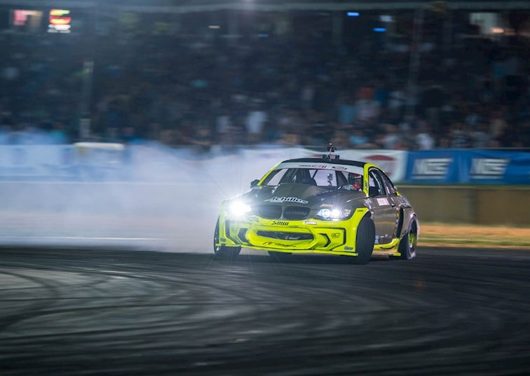 Kristaps Bluss Conquers the Road to the Championship at Formula Drift Atlanta