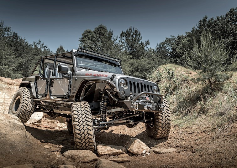 War Machine: Big O's Hemi-Powered Wrangler Unlimited [Video]