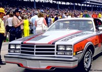 two wide buick century pace car header