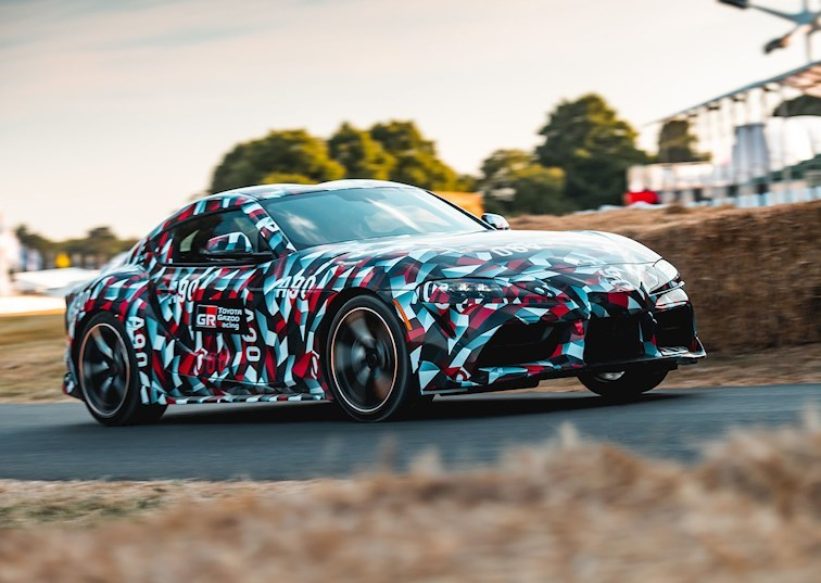 A Four-Cylinder Supra? Toyota Says It's Coming