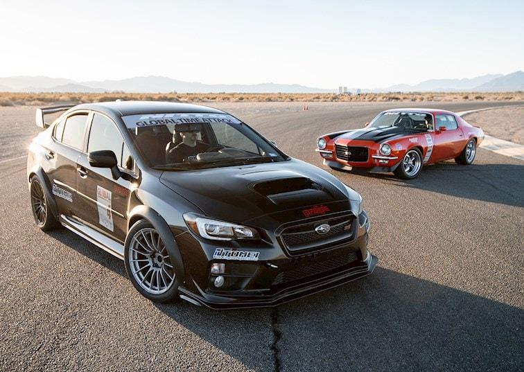 Camaro vs. WRX STI: Meet the Cars of Driver Battles Episode 6
