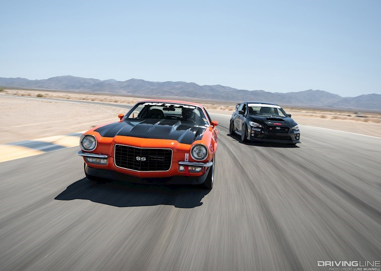 Driver Battles Episode 6: '72 Camaro vs. '15 WRX STI [VIDEO]