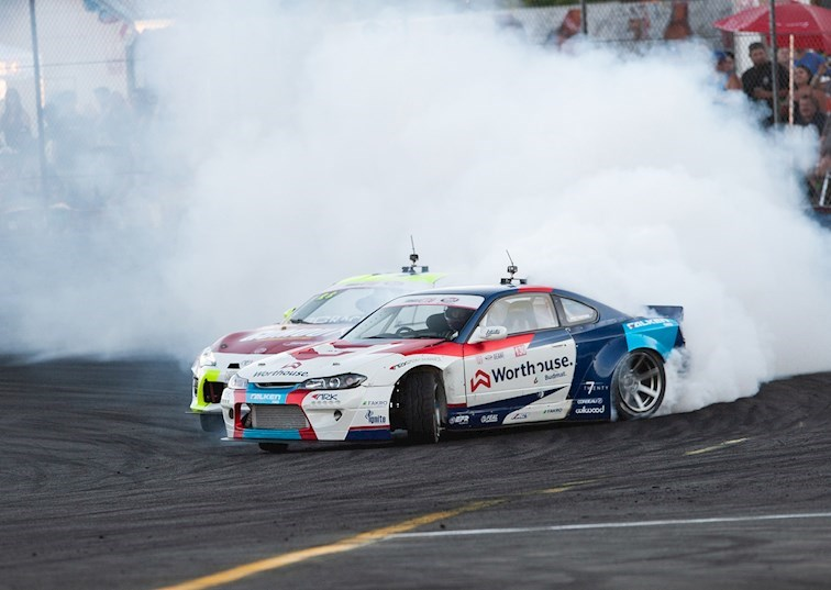 James Deane Throws Down at Evergreen Speedway to Win Formula Drift Round 5