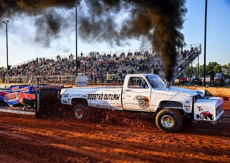 Dominating the Dirt: A Full-Pulling, Cummins-Powered Third-Gen Chevy