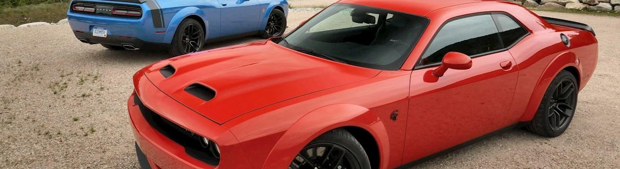 Track Tested: 2019 Dodge Challenger SRT Hellcat Redeye vs