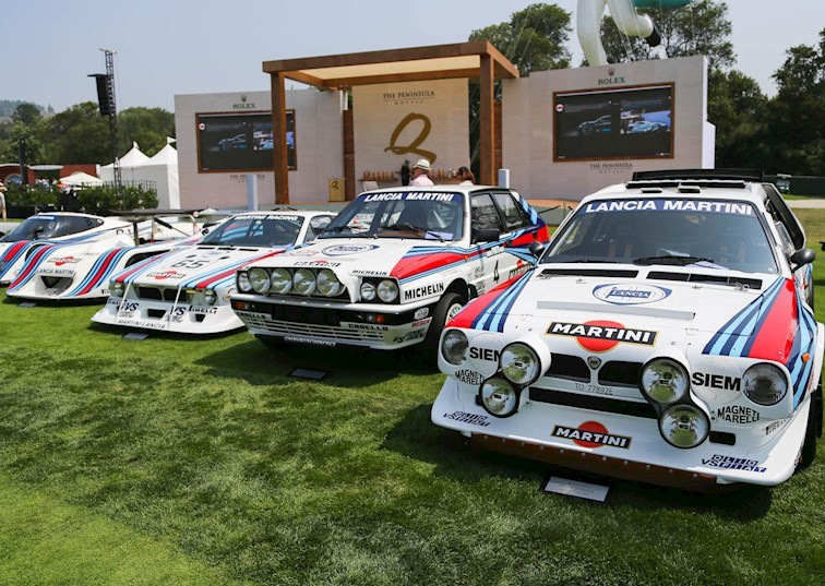 Martini & More: A Gathering of Lancia Legends at The Quail