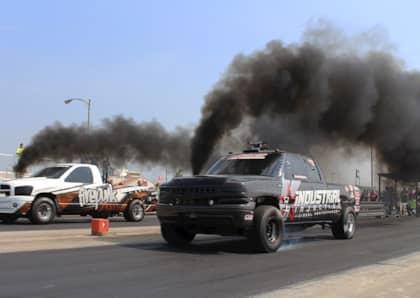 Anatomy of a Pro Street Diesel Drag Truck   DrivingLine