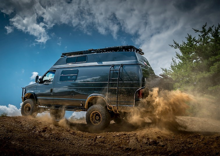 Alpha Van: The Ultimate Overland Ford E-350 4x4 [Video]