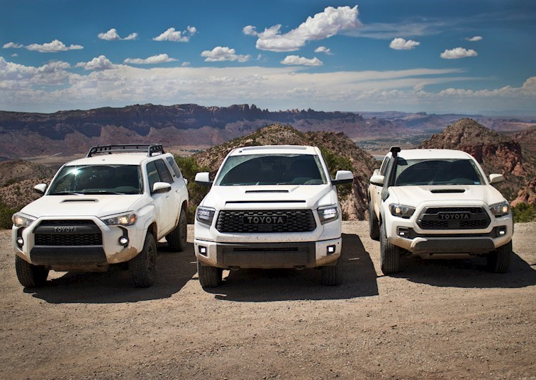 The Toyota Trio: Which 2019 TRD Pro is Right for You?
