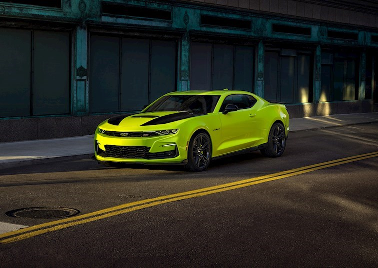 2019 Camaro SS Shock: A New Color and a New front End for SEMA