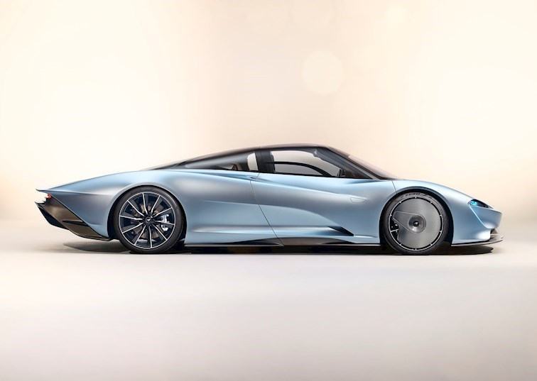 Hyper GT: McLaren Unveils Three-Seat Speedtail With 1,035HP