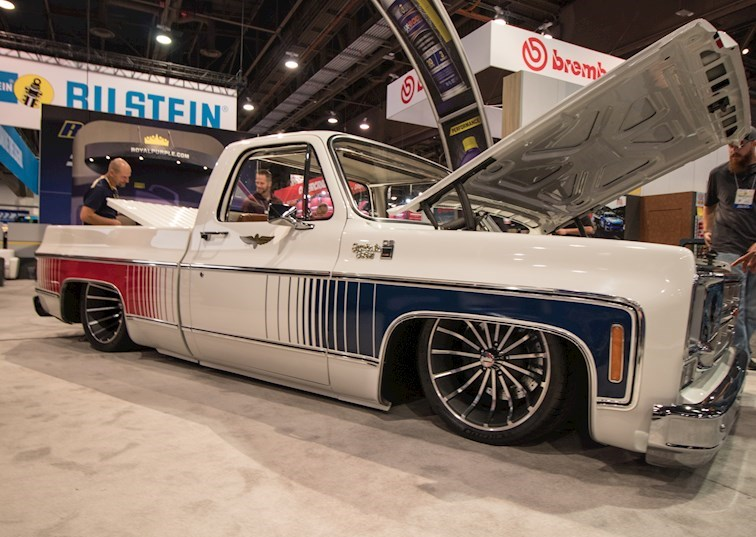 Classic Trucks Abound at SEMA 2018 [Gallery]