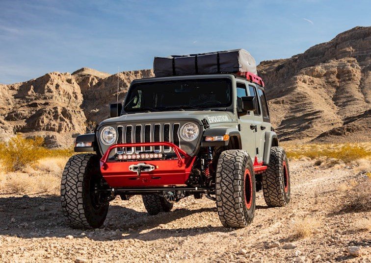 Ride of the Week: Off Road Evolution 2018 Jeep Wrangler [Video]