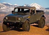 two wide jeep truck concept