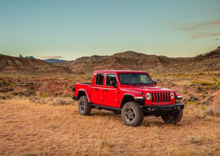Jeep Unveils Gladiator Truck [Video]