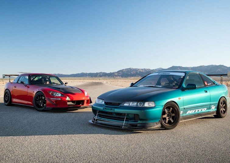 Honda S2000 vs. Acura Integra: Meet the Cars of Driver Battles Episode 9