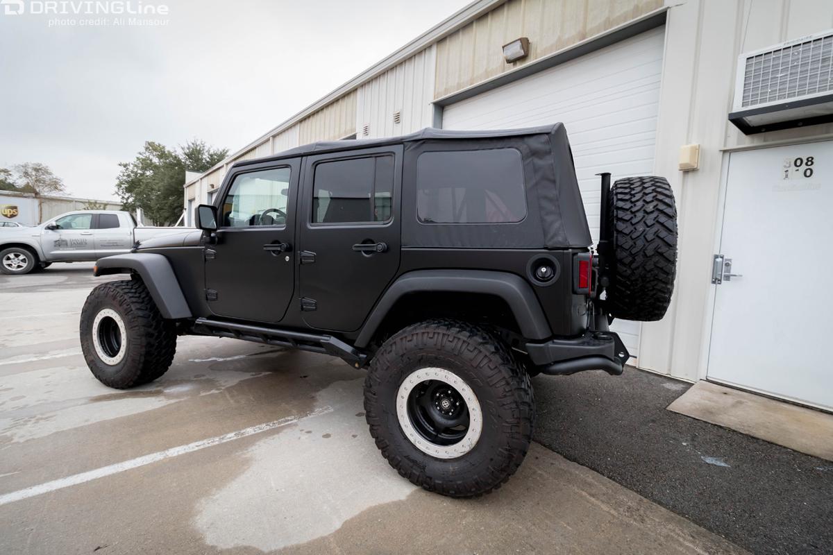 3M Vinyl Vehicle Wrap: Our Jeep JK Gets a New Paint Job