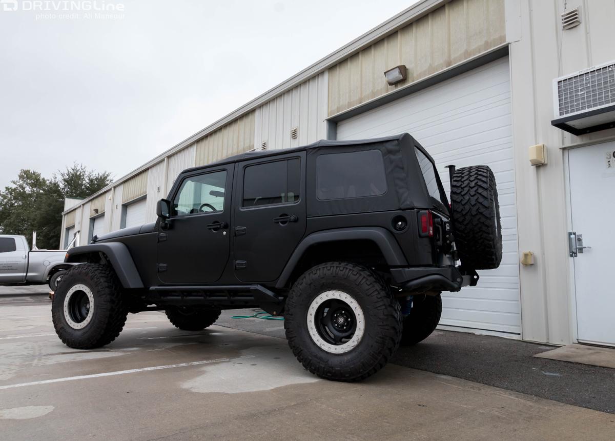 3m Vinyl Vehicle Wrap Our Jeep Jk Gets A New Paint Job
