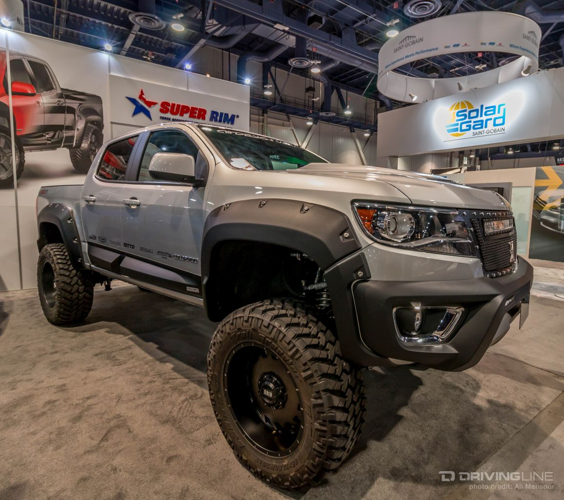 Chevy Trucks Of Sema 2015 as well Roadkill Hits The Dunes In A 600 Horsepower Silverado Video likewise 2017 All New Gmc Acadia Denali Interior 2 furthermore 2013 Dodge Ram Dually Width additionally Gmc Sierra Running Boards. on 2014 gmc sierra all terrain reviews