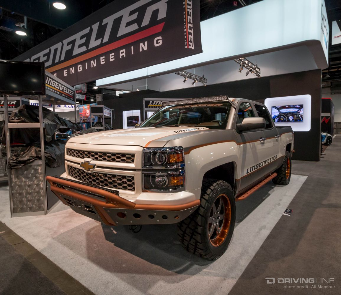 Chevy Trucks Of Sema 2015 Drivingline