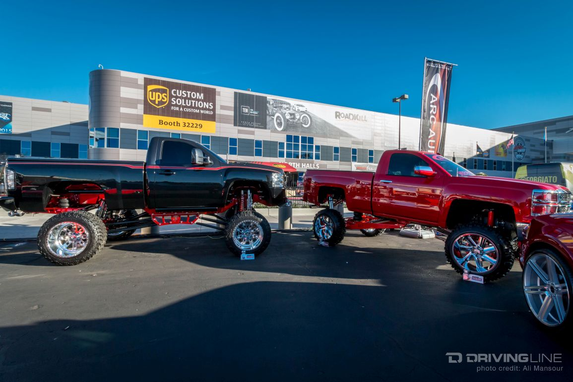 Lifted Chevy Colorado >> Chevy Trucks Of SEMA 2015 | DrivingLine