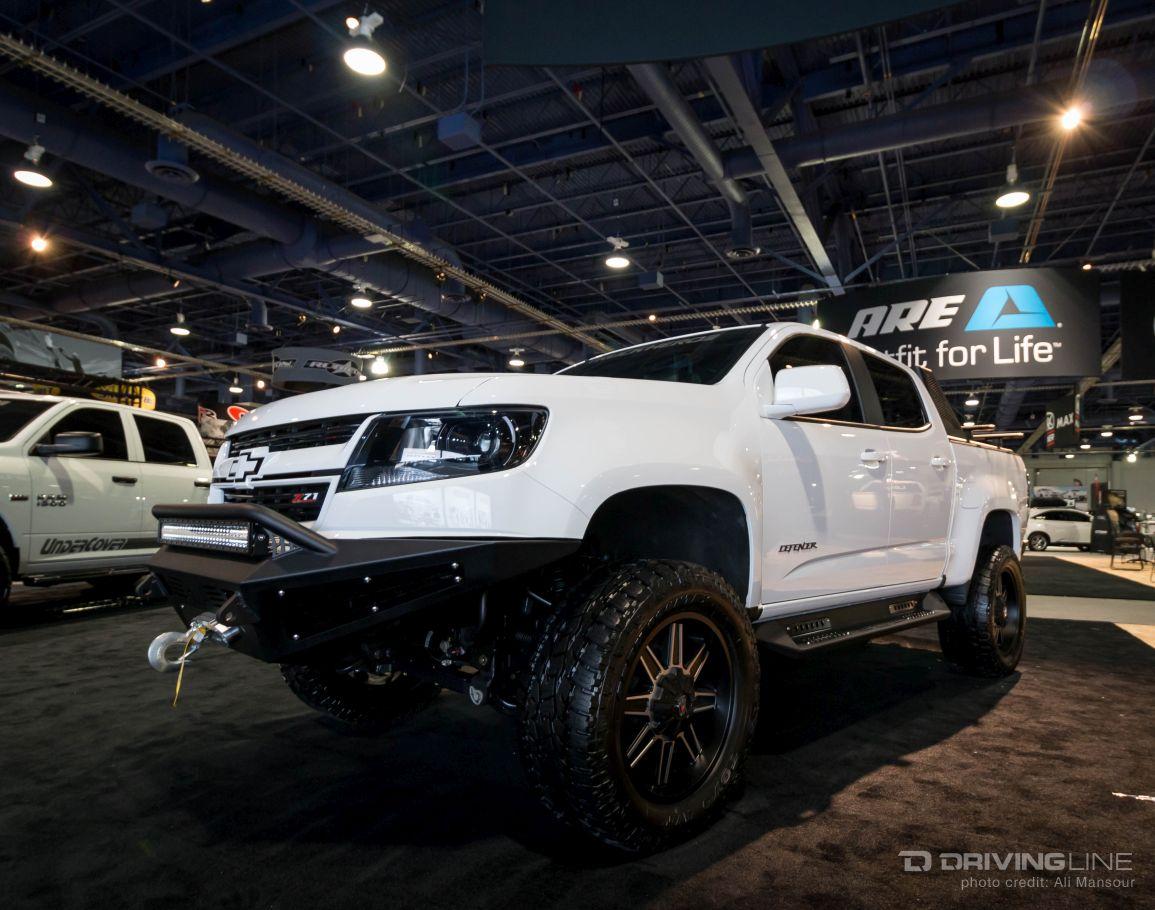 Chevy Trucks Of SEMA 2015 | DrivingLine