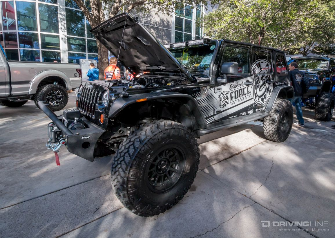 Jeeps Of Sema 2015 Drivingline
