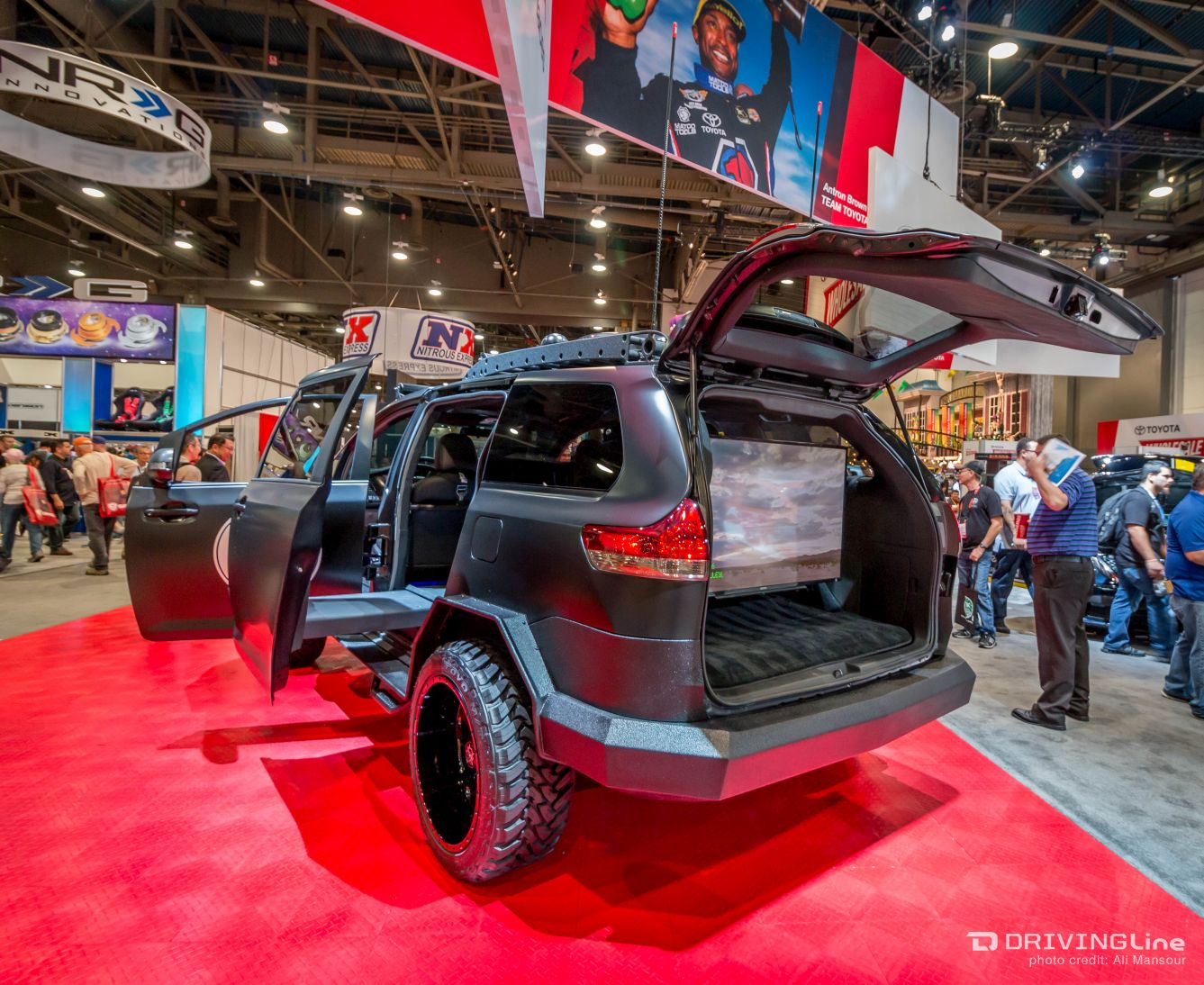 Toyota S 4x4 Sienna Unveiled At Sema 2015 Drivingline