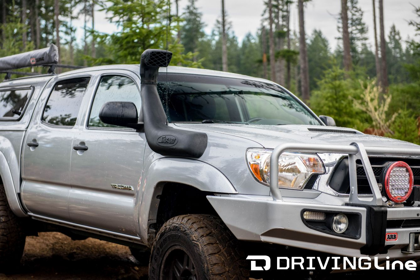 Breathe Easy! All-New Toyota Tacoma Safari Snorkel | DrivingLine