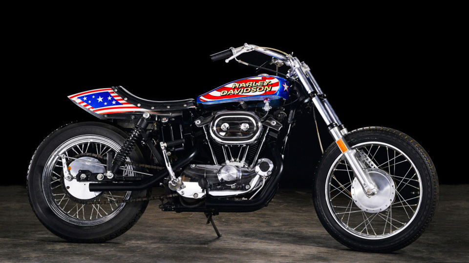 Famous Evel Knievel Bike At Auction: Top Reasons Why Evel Knievel Kicks Travis Pastrana's Ass