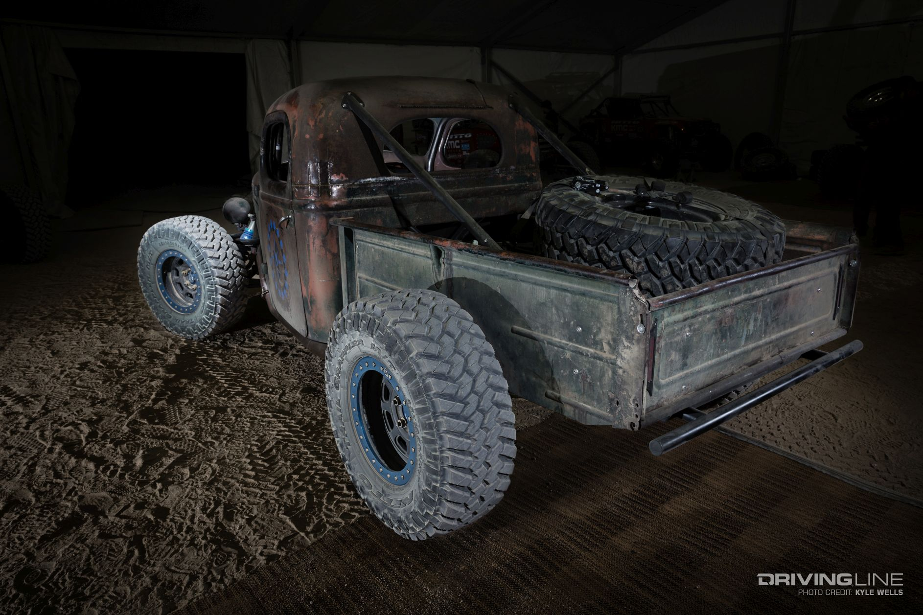 Trophy Rat A Hot Rod Pickup With Real Off Road Chops